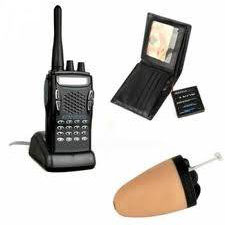 Spy Bluetooth Walkie-Talkie Earpiece Set