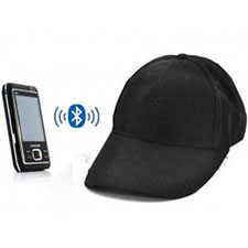 Spy Bluetooth Cap Earpiece Set