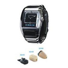 Spy Bluetooth Watch Earpiece Set