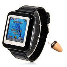 Spy Bluetooth Watch Mobile Phone