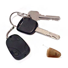 Spy Bluetooth Keychain Earpiece