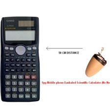 SPY BLUETOOTH CALCULATOR EARPIECE SET